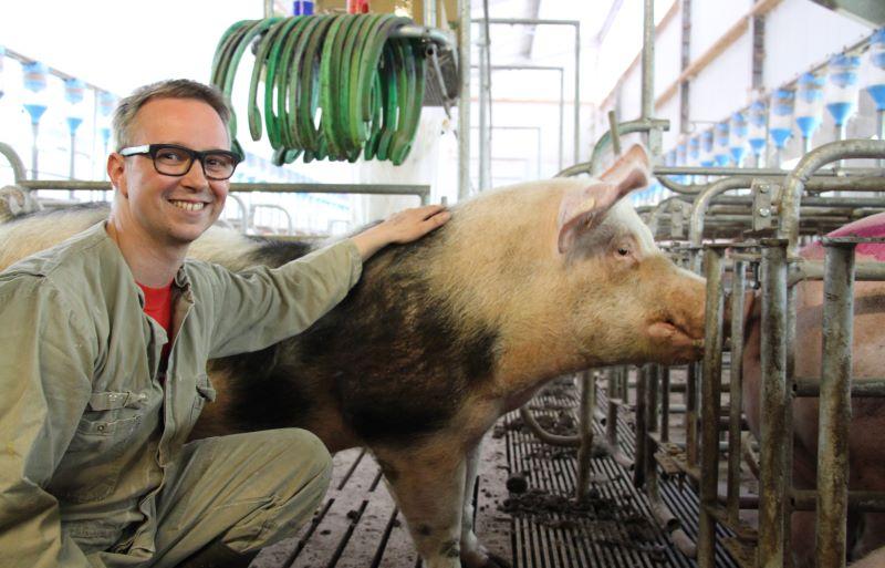 Varkenshouder Twan Dirks hamert op kostprijs - Beter Varken